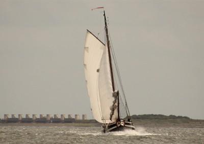 Zeilen op IJsselmeer