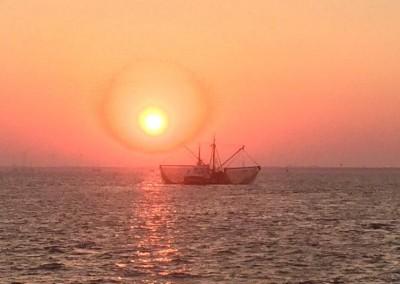 Zeilen naar de Waddenzee