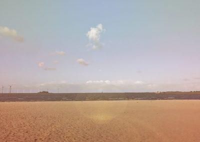 De Lemsterbaai in Lemmer heeft een schitterend strand